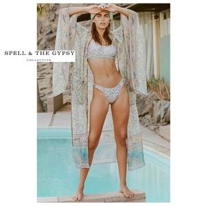 Spell & The Gypsy Collective Intimates & Sleepwear - 🌟 Spell 🌟 Oasis Robe in Opal M/L NWT